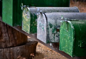 Green Mailboxes